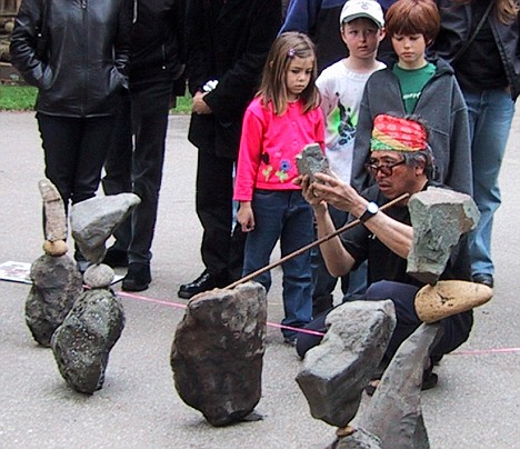 Rock Balancing by Bill Dan, America - 2008