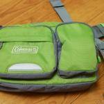 マイクロフォーサーズのレンズバッグに最適!Colemanウォーキングポーチ