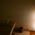 お客さん、2灯式蛍光灯は間引きできないのよ。裏技があった。