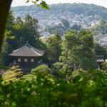 銀閣寺は大文字山まで登るといいみたい