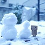 雪とダンボーとわたし