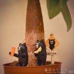 自撮りするクマ・・・後ろ後ろ!(笑) (Instagram)