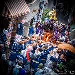 代々木八幡宮805回目の例大祭