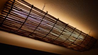 天井照明に小細工
