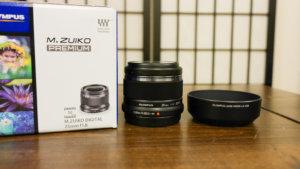 オリンパス【M.ZUIKO DIGITAL 25mm F1.8】を買ってみた