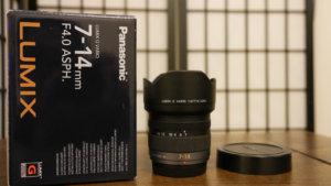 パナソニック【LUMIX G VARIO 7-14mm/F4.0】を買ってみた