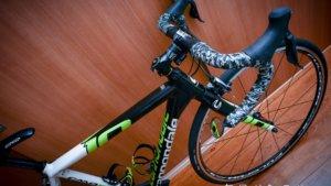 登山用トレーニングにロードバイク、キャノンデールのCAAD10を譲ってもらった