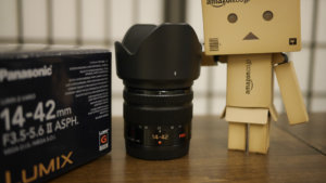 LUMIX G VARIO 14-42mm/F3.5-5.6 IIを買ってみた
